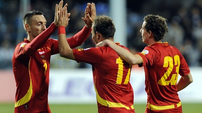 Montenegro go top with San Marino win