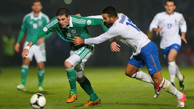 Healy saves Northern Ireland against Azerbaijan