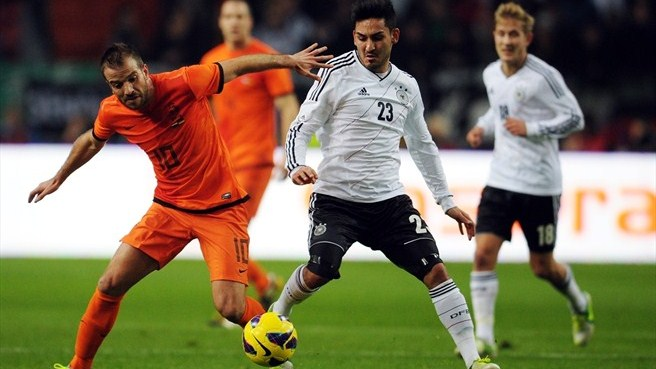 Stalemate between Netherlands and Germany