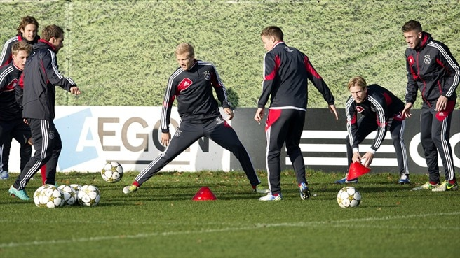 AFC Ajax training