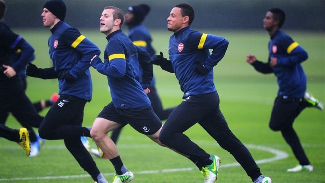 Jack Wilshere & Francis Coquelin (Arsenal FC)
