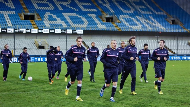 FC Girondins de Bordeaux training