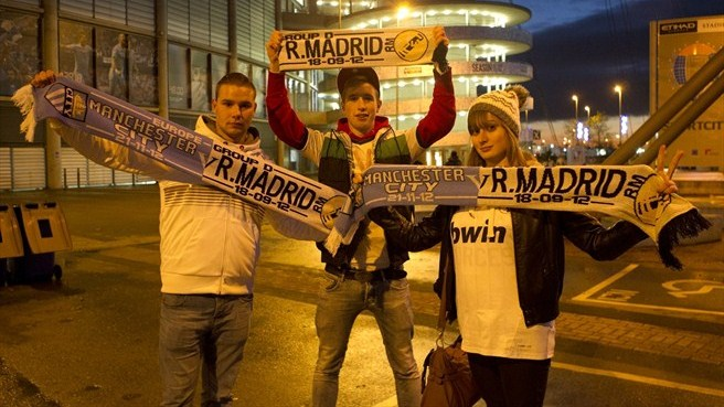 Real Madrid CF fans