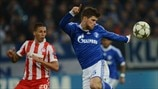 Schalke 1-0 Olympiacos: the story in photos