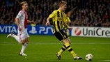 Ajax 1-4 Dortmund: the story in photos