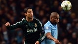 Cristiano Ronaldo (Real Madrid CF) & Maicon (Manchester City FC)