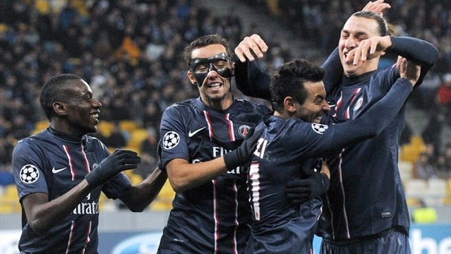 Paris showdown for PSG and Porto
