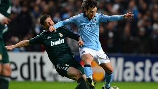 David Silva (Manchester City FC) & Xabi Alonso (Real Madrid CF)