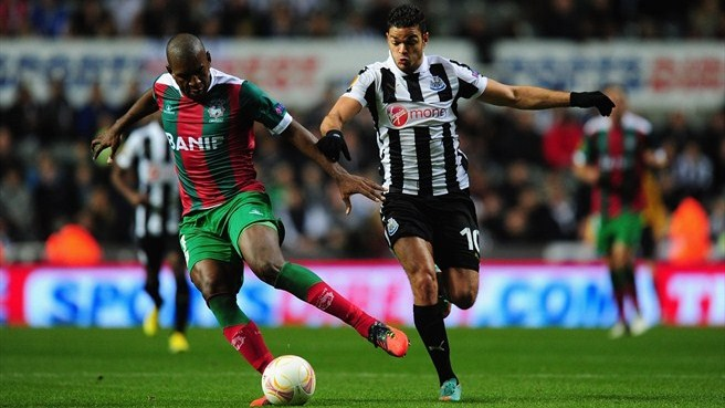 Benfica test excites Newcastle boss Pardew