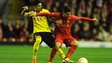 Gonzalo Zárate (BSC Young Boys) & Suso (Liverpool FC)