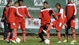 SC Braga training