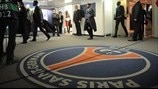 Players arrive at the Parc des Princes