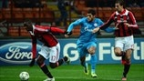 Milan 0-1 Zenit: the story in photos