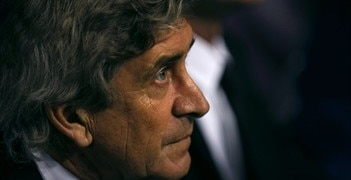 Málaga coach Manuel Pellegrini can look forward to the draw on 20 December