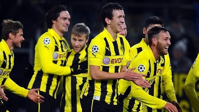 Dortmund-Man. City reaction
