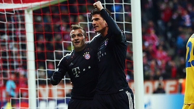 Shaqiri and Gomez savour handsome Bayern win
