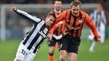 Shakhtar 0-1 Juventus: the story in photos