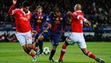 Barcelona 0-0 Benfica: the story in photos