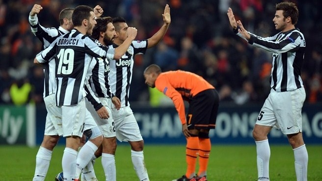 Shakhtar Donetsk-Juventus reaction