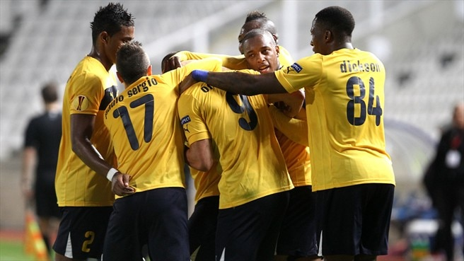 AEL beat Marseille to finish on a high