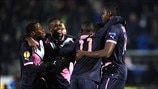 FC Girondins de Bordeaux celebrate