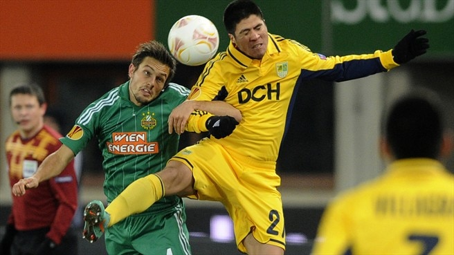 Rapid bow out with Metalist win