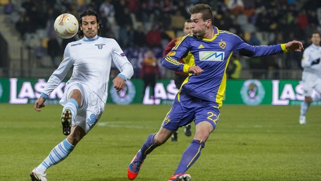 Four-goal Lazio leave Maribor as Group J winners