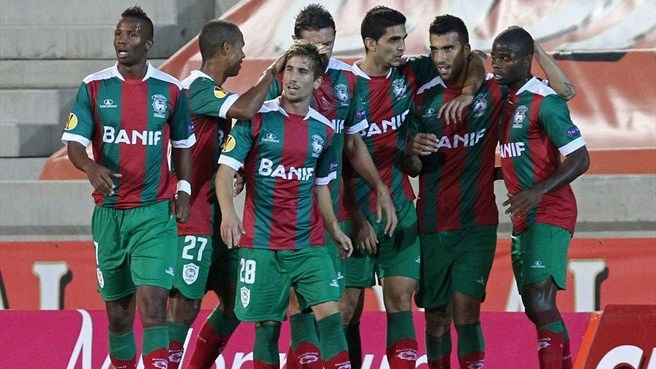 Marítimo clinch maiden win against Club Brugge