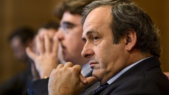 Michel Platini (UEFA Champions League round of 16 draw)