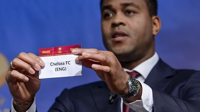 Patrick Kluivert (UEFA Europa League round of 32 draw)