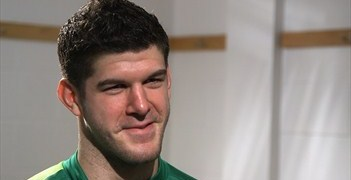 Fraser Forster speaks to UEFA.com