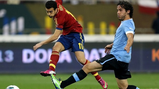 Spain prove too strong for Uruguay