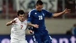José Holebas (Greece) & Tranquillo Barnetta (Switzerland)