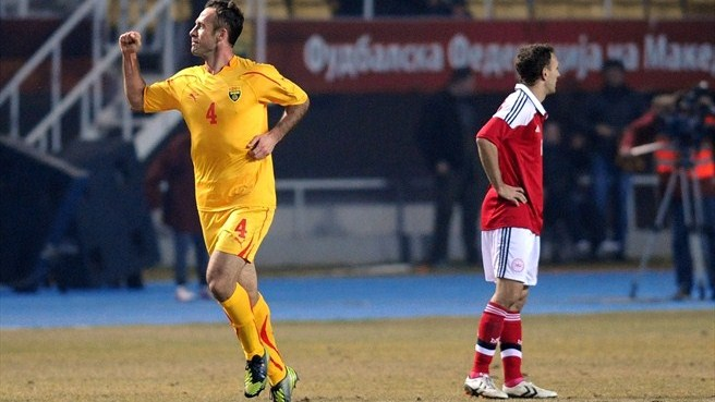 Home fires burn bright after FYROM triumph