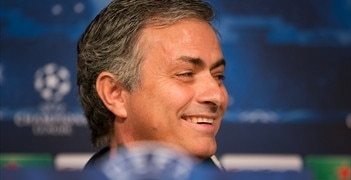 José Mourinho was in jovial mood at the pre-match press conference