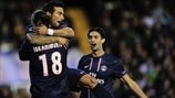 Valencia 1-2 PSG: the story in photos