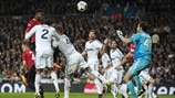 Real Madrid 1-1 Manchester United: the story in photos