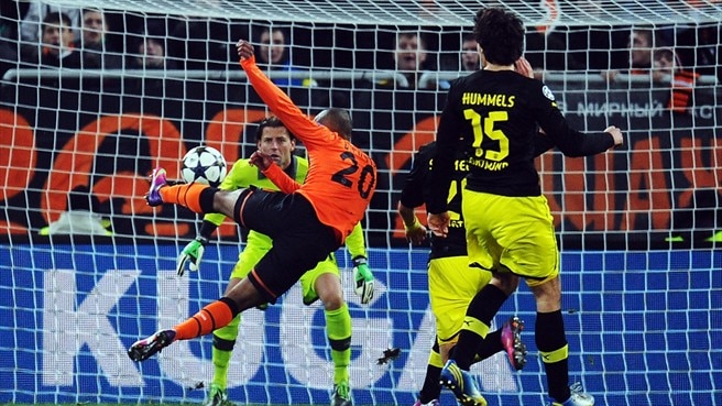 Match facts: Dortmund v Shakhtar