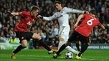 Jonny Evans & Phil Jones (Manchester United FC), Cristiano Ronaldo (Real Madrid CF)