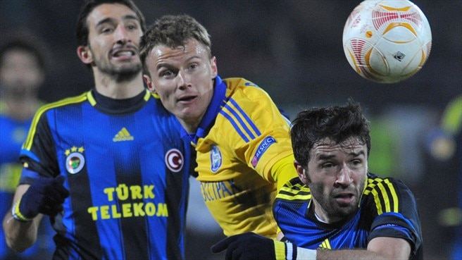 Fenerbahçe home in on BATE success