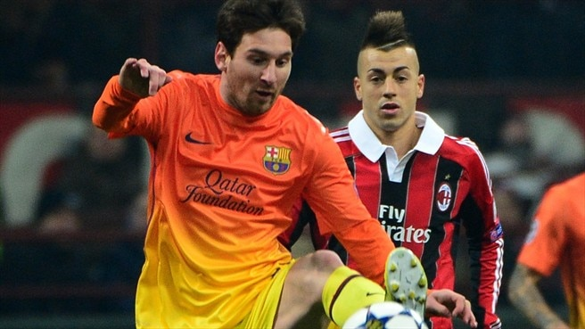 Match facts: Barcelona v Milan
