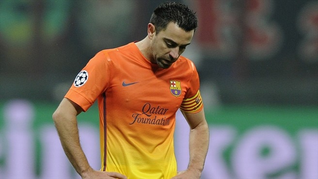 Xavi hamstrung by recurring injury