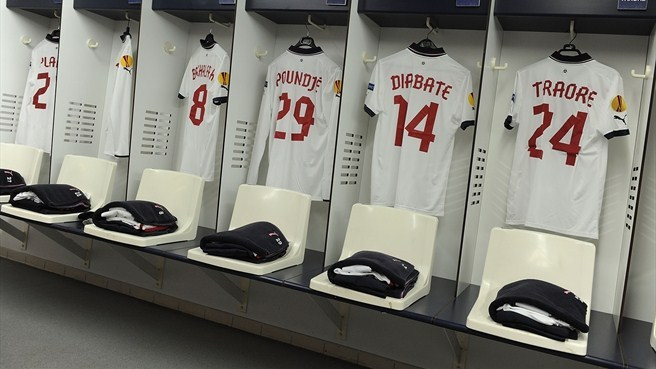 FC Girondins de Bordeaux dressing room