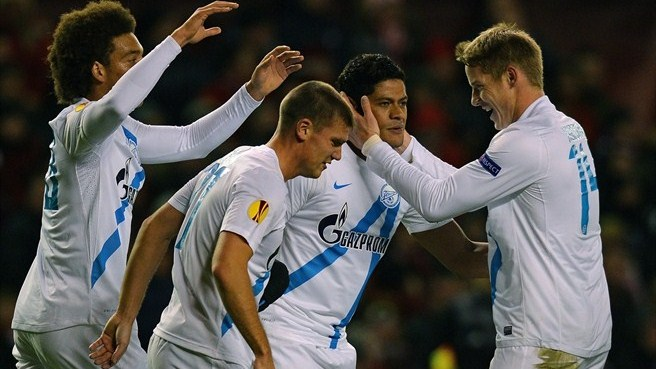 Liverpool-Zenit reaction