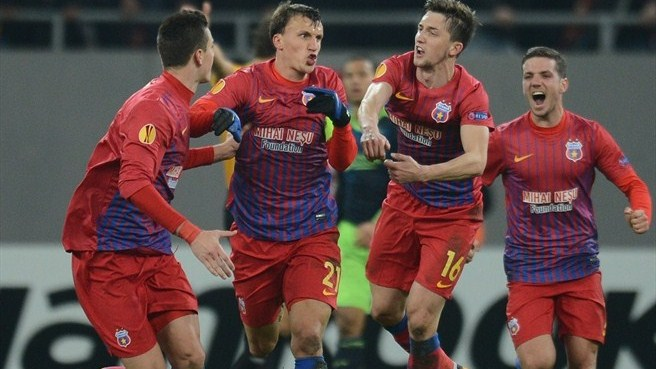 Latovlevici shines as Steaua beat Ajax on penalties