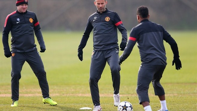 Ryan Giggs & Patrice Evra (Manchester United FC)