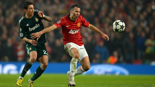 Ángel Di María (Real Madrid CF) & Ryan Giggs (Manchester United FC)