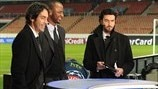 Broadcasters at the Parc des Princes (Paris Saint-Germain FC)