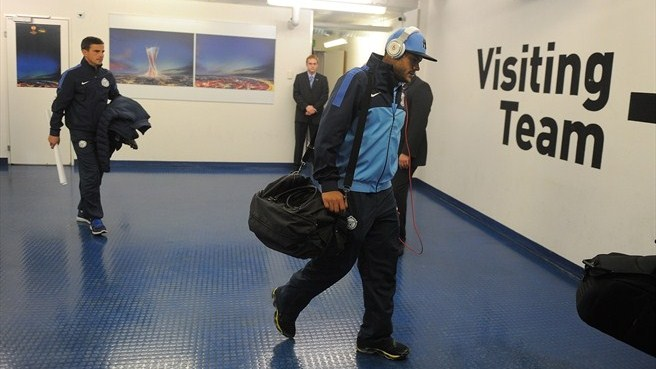 FC Zenit St Petersburg players arrive