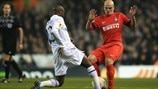 William Gallas (Tottenham Hotspur FC) & Esteban Cambiasso (FC Internazionale Milano)